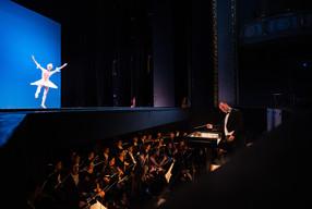 GMD Florian Merz bei der Ballettvorstellung mit der Semperoper Dresden anlässlich der  13. Chursächsischen Festspiele 2013
