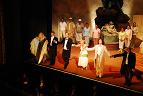 "Handel Opera ""Acis and Galatea"" as a coproduction with the Landesbühnen Sachsen (2009)"